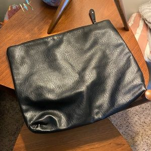 Free People Vegan Leather Clutch